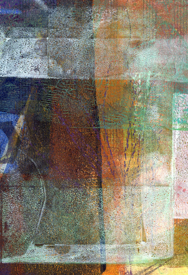 Monoprint by Janet Jaffke