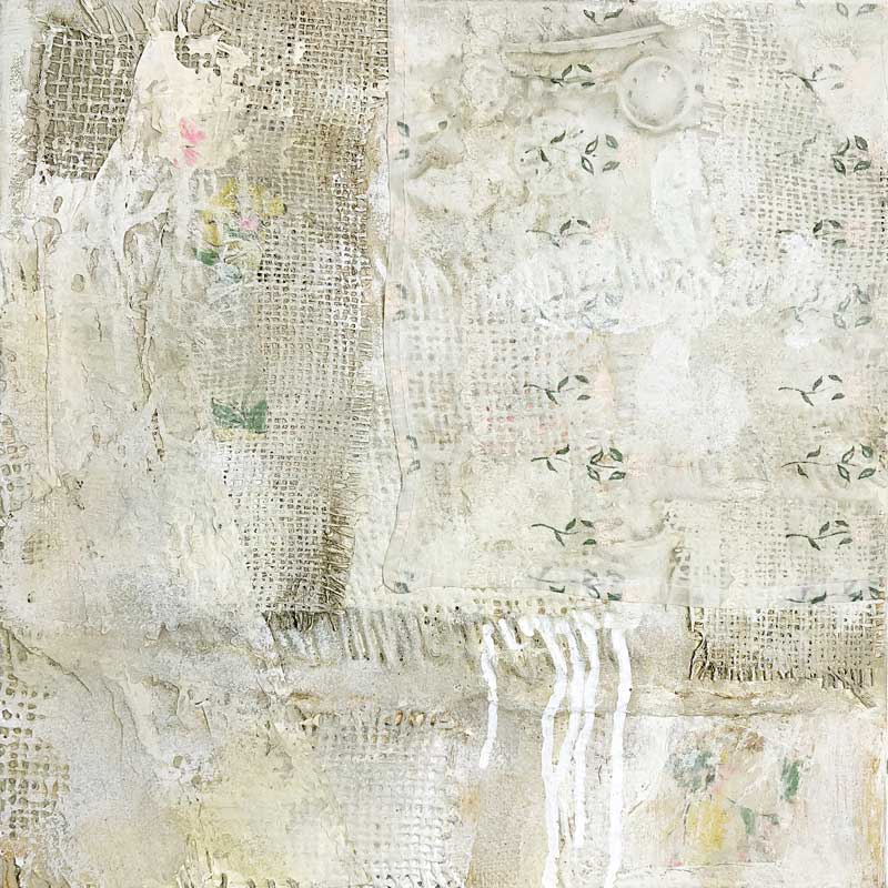 Mixed media on wood by Janet Jaffke