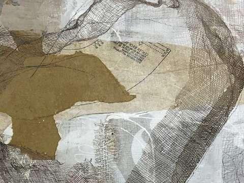Detail -Janet Jaffke mixed media