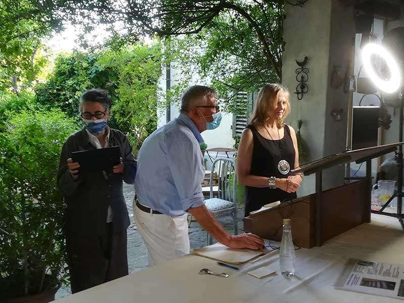 Janet Jaffke - Exhibition Florence Italy