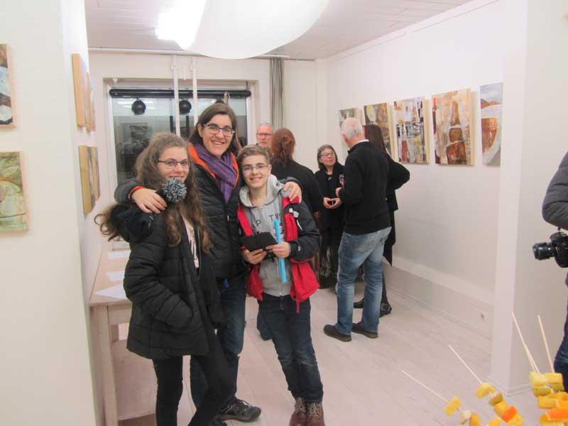 Janet Jaffke solo exhibiton, Galerie 21