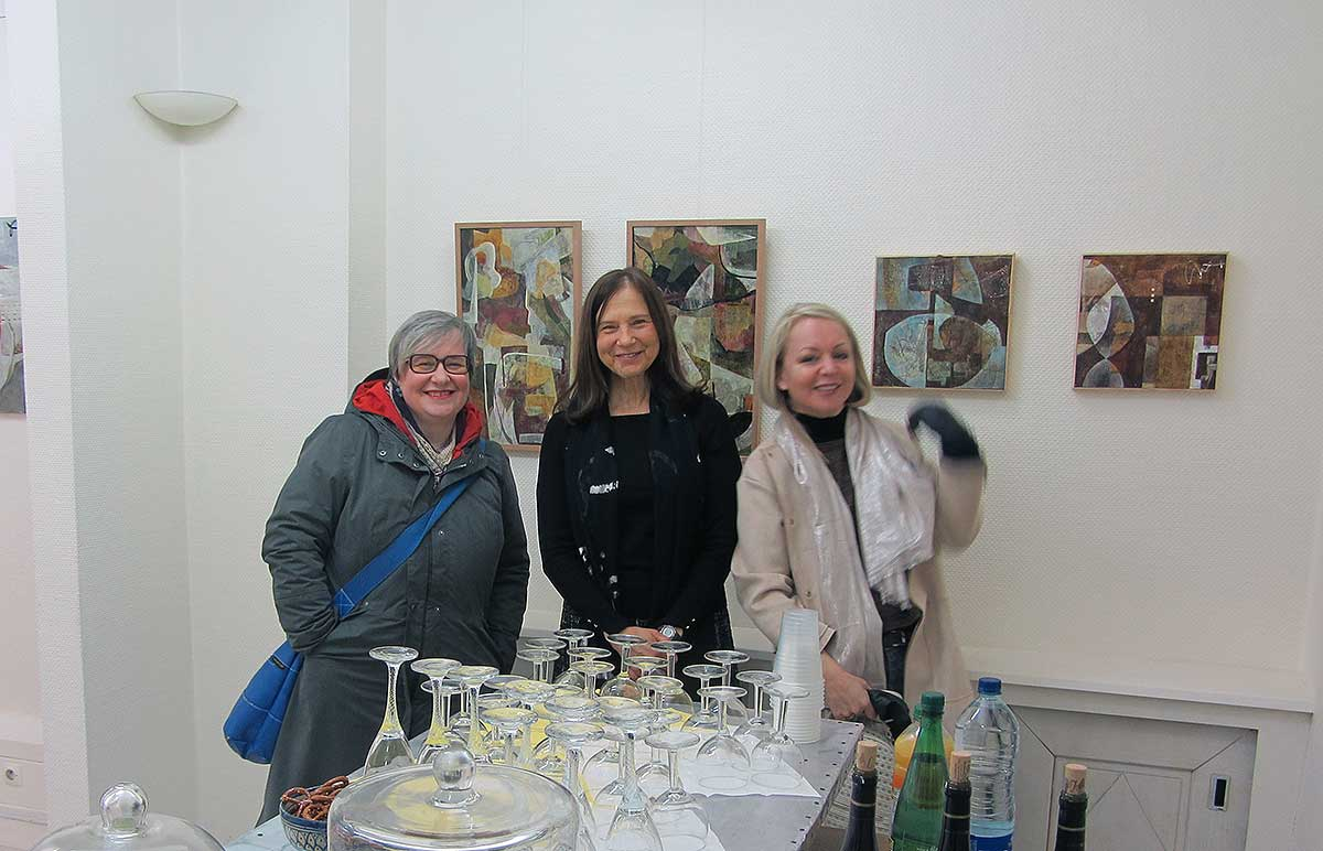 First solo exhibiton Janet Jaffke Altkirch France