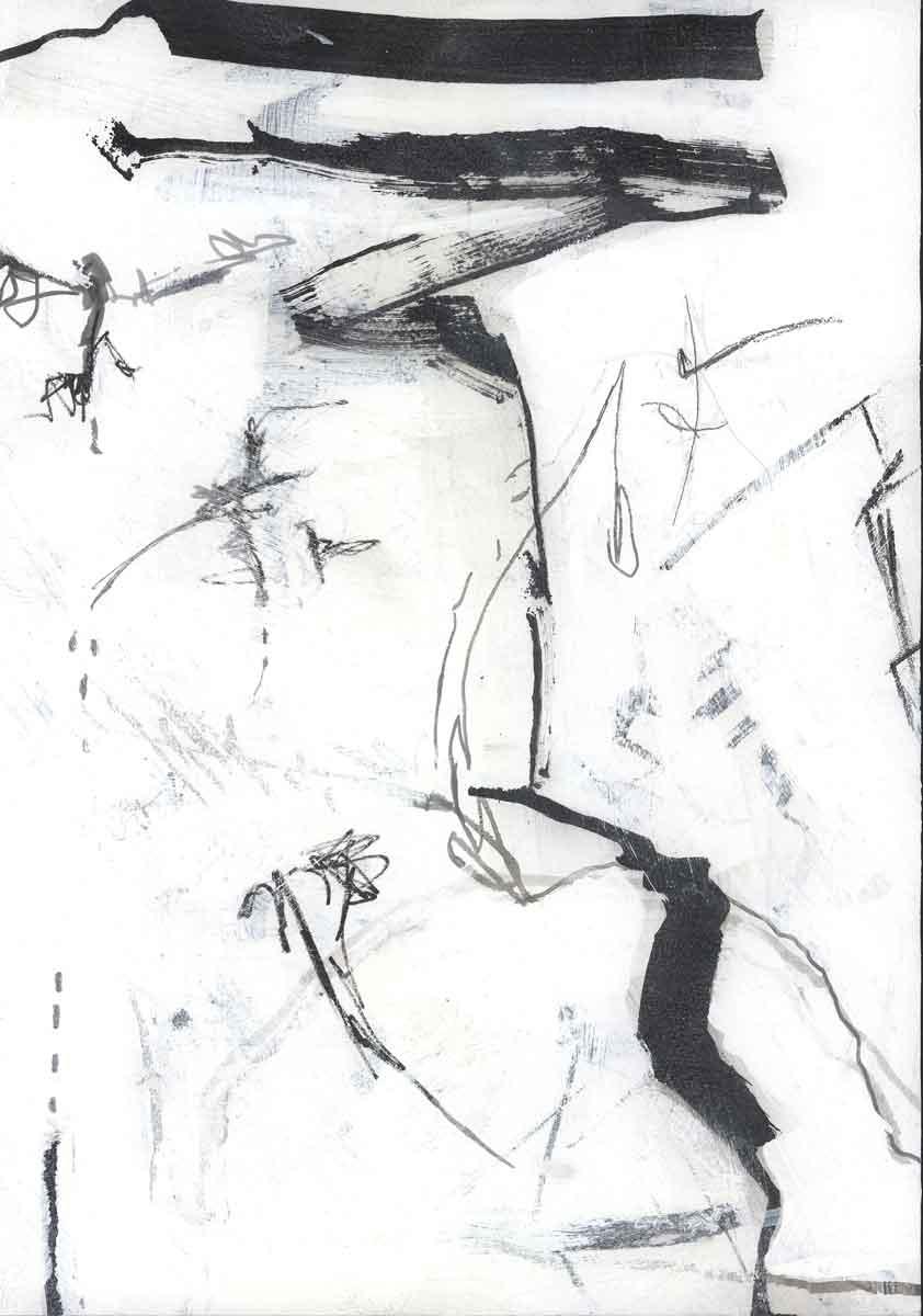 Line Study 07 by Janet Jaffke