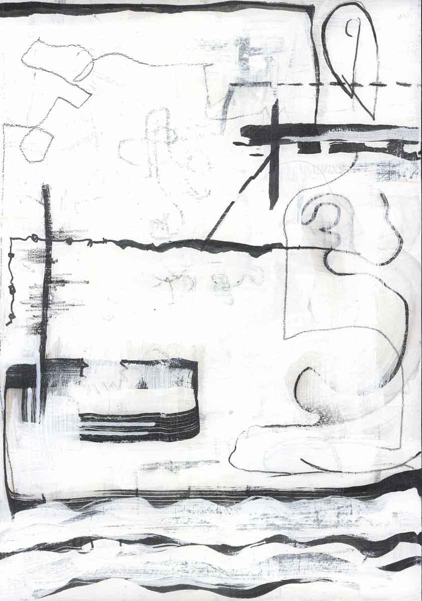 Line Study 06 by Janet Jaffke