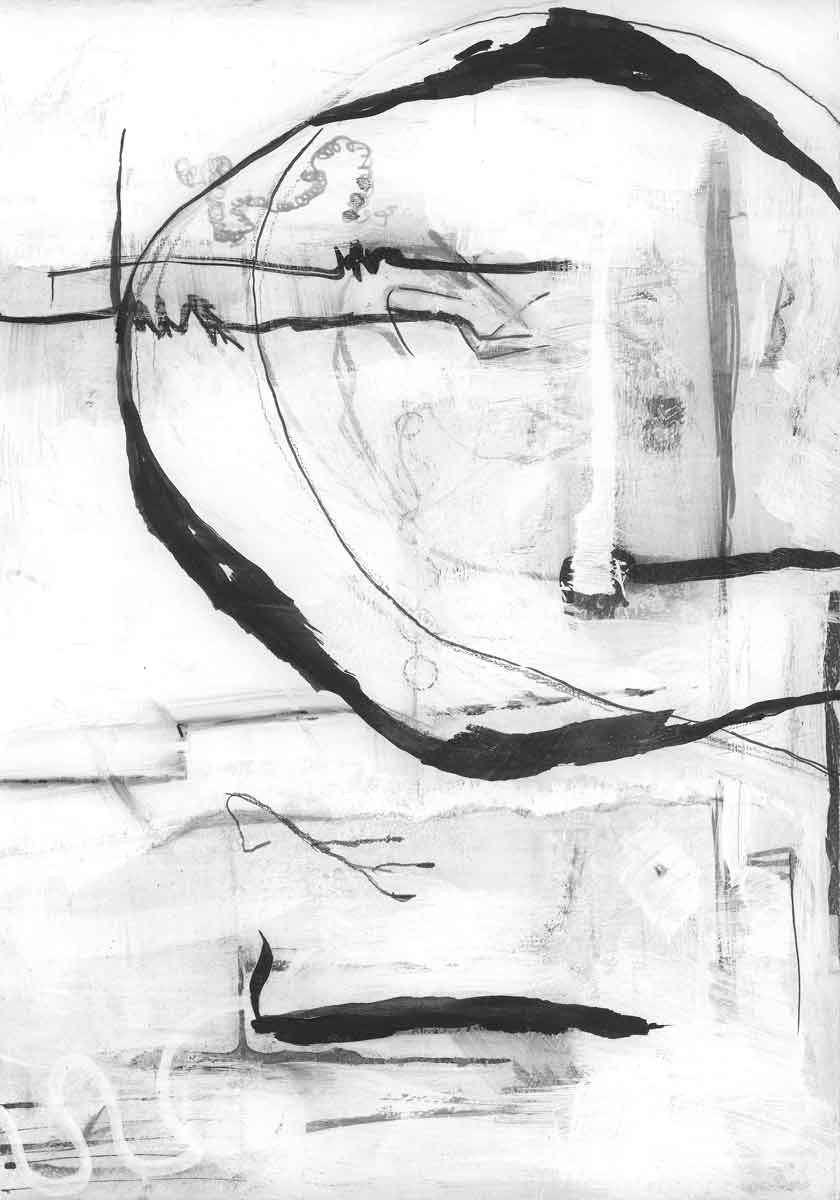 Line Study 05 by Janet Jaffke