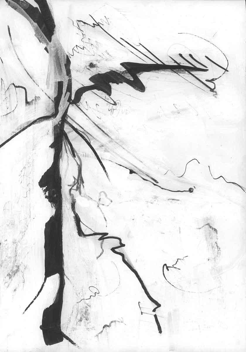 Line Study 04 by Janet Jaffke