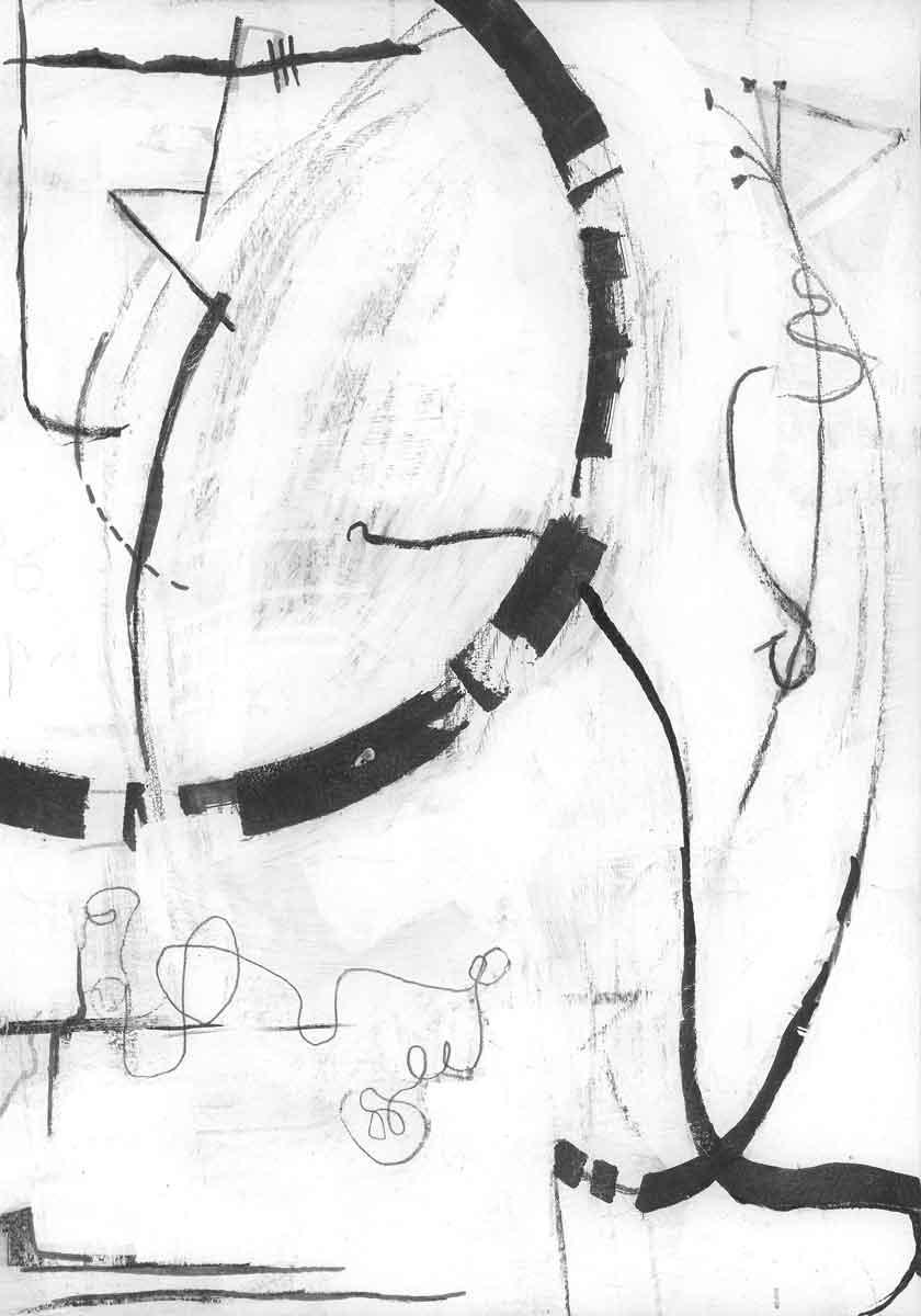 Line Study 03 by Janet Jaffke
