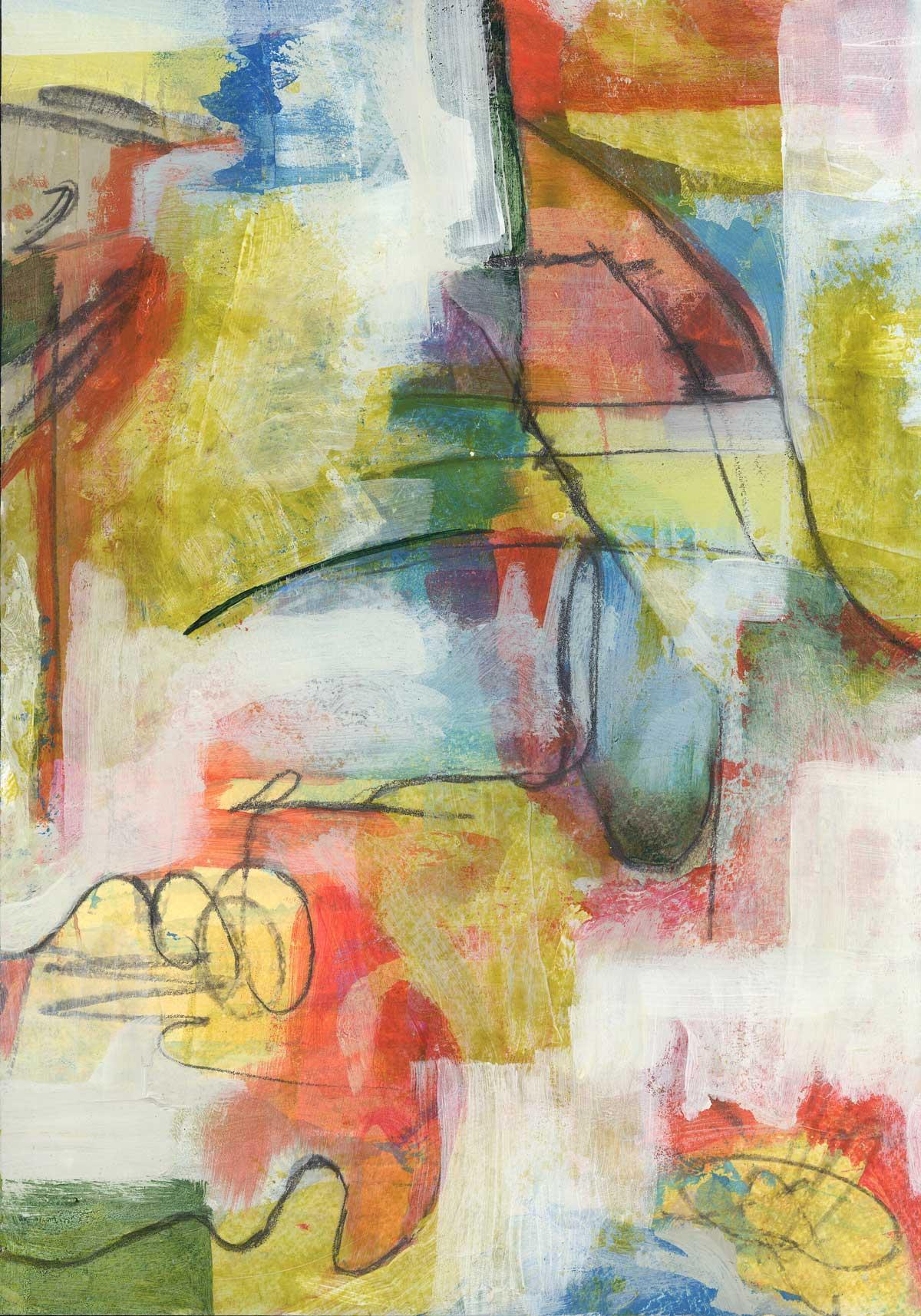 Speed Painting 8 by Janet Jaffke