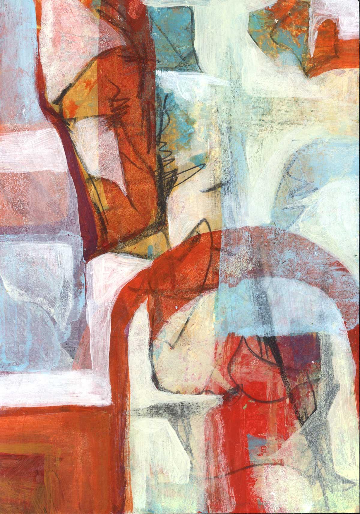 Speed Painting 5 by Janet Jaffke
