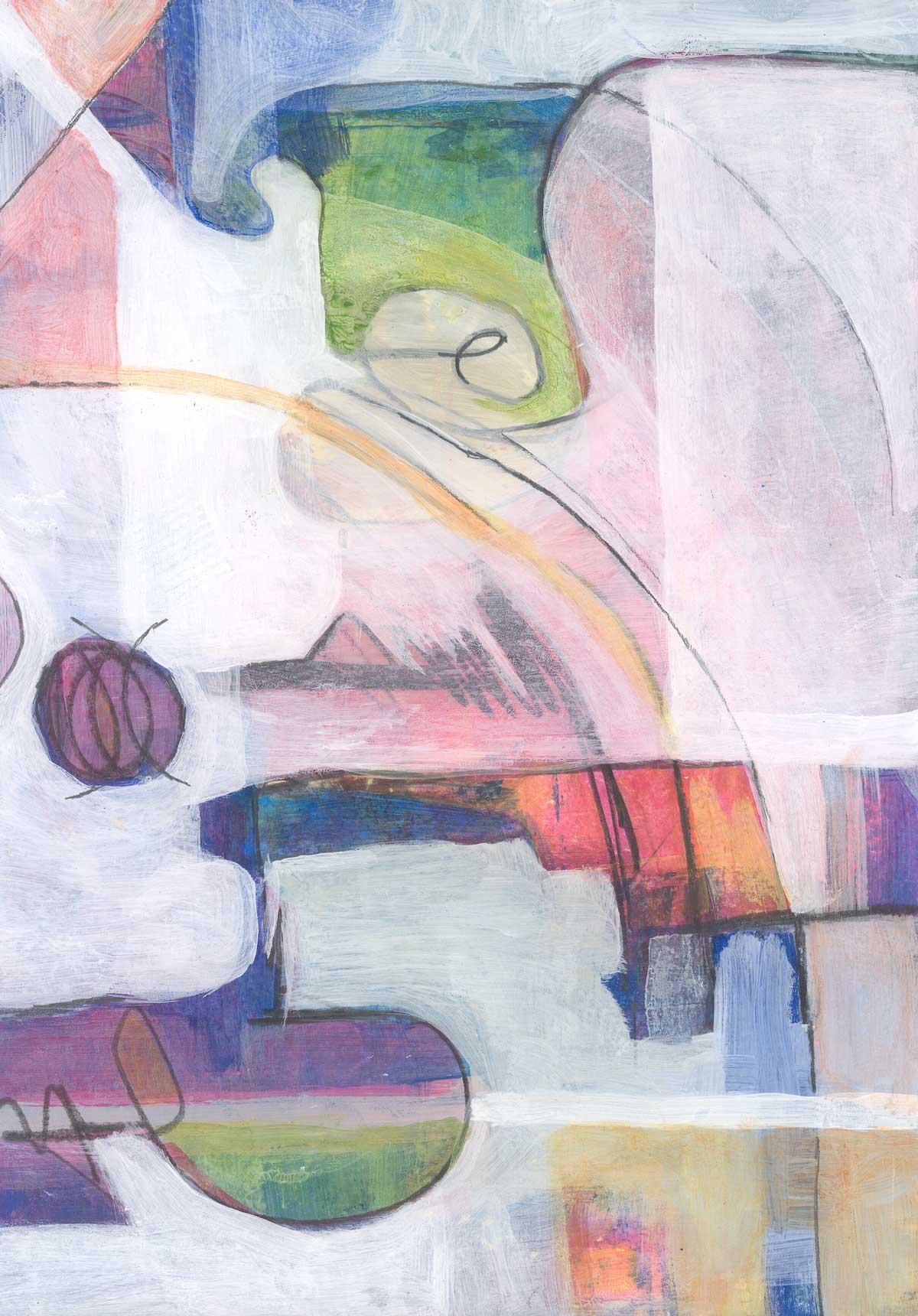 Speed painting by Janet Jaffke