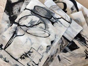 Black and White Studies by Janet Jaffke