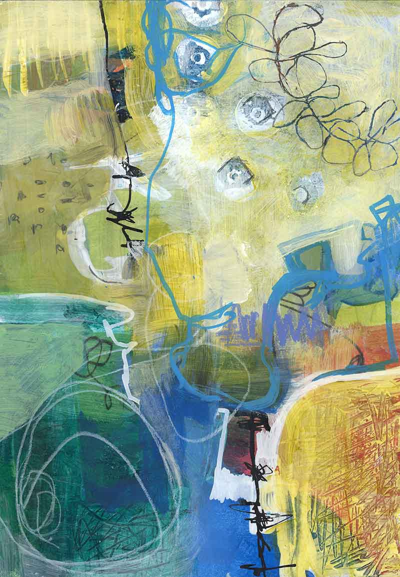 Mixed Media by Janet Jaffke