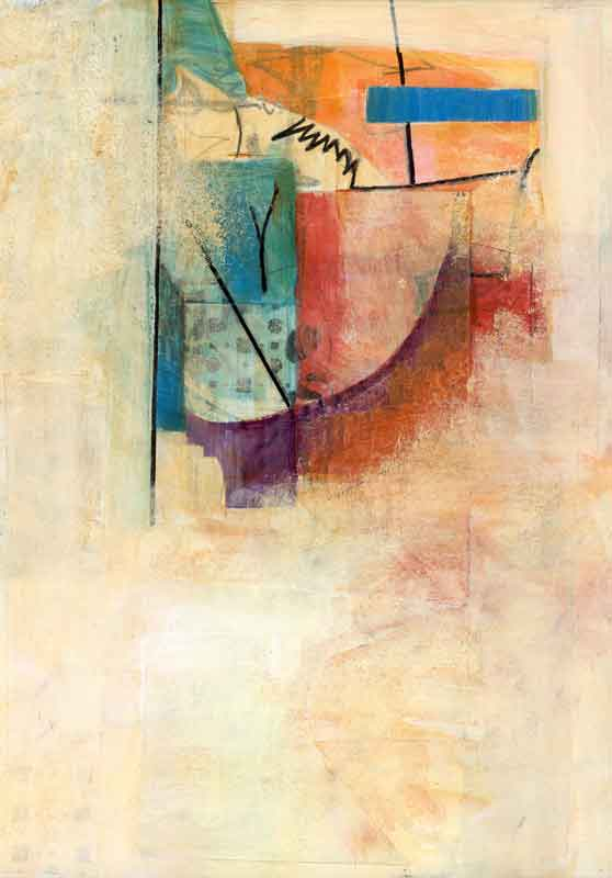 Abstract study by Janet Jaffke