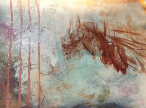 Results of experiments with drips and splatters