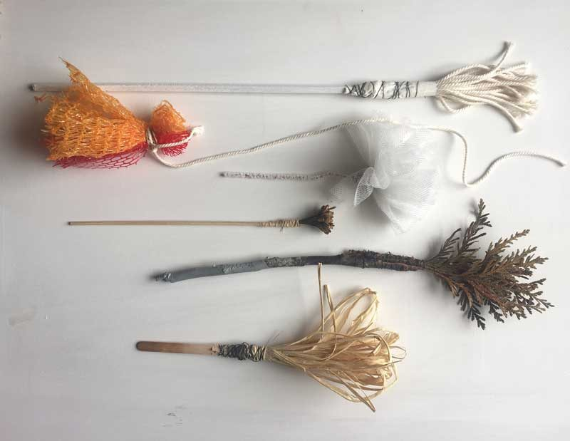 Hand made brushes