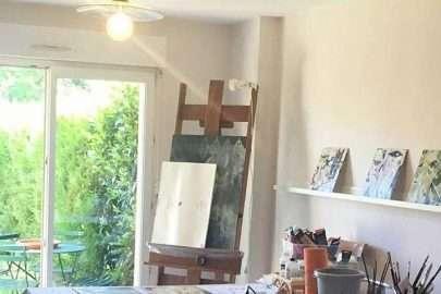 Janet Jaffke's studio in Alsace France
