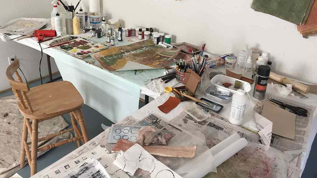 Studio space at Blueberry View